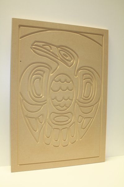 Wooden Wall Art Eagle (Unfinished)