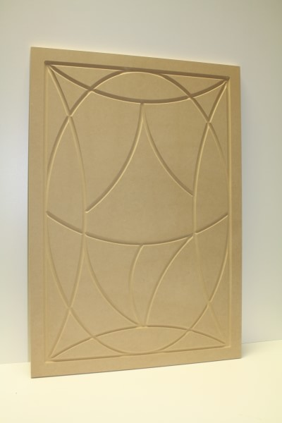 Wooden Wall Art Oval(Unfinished)